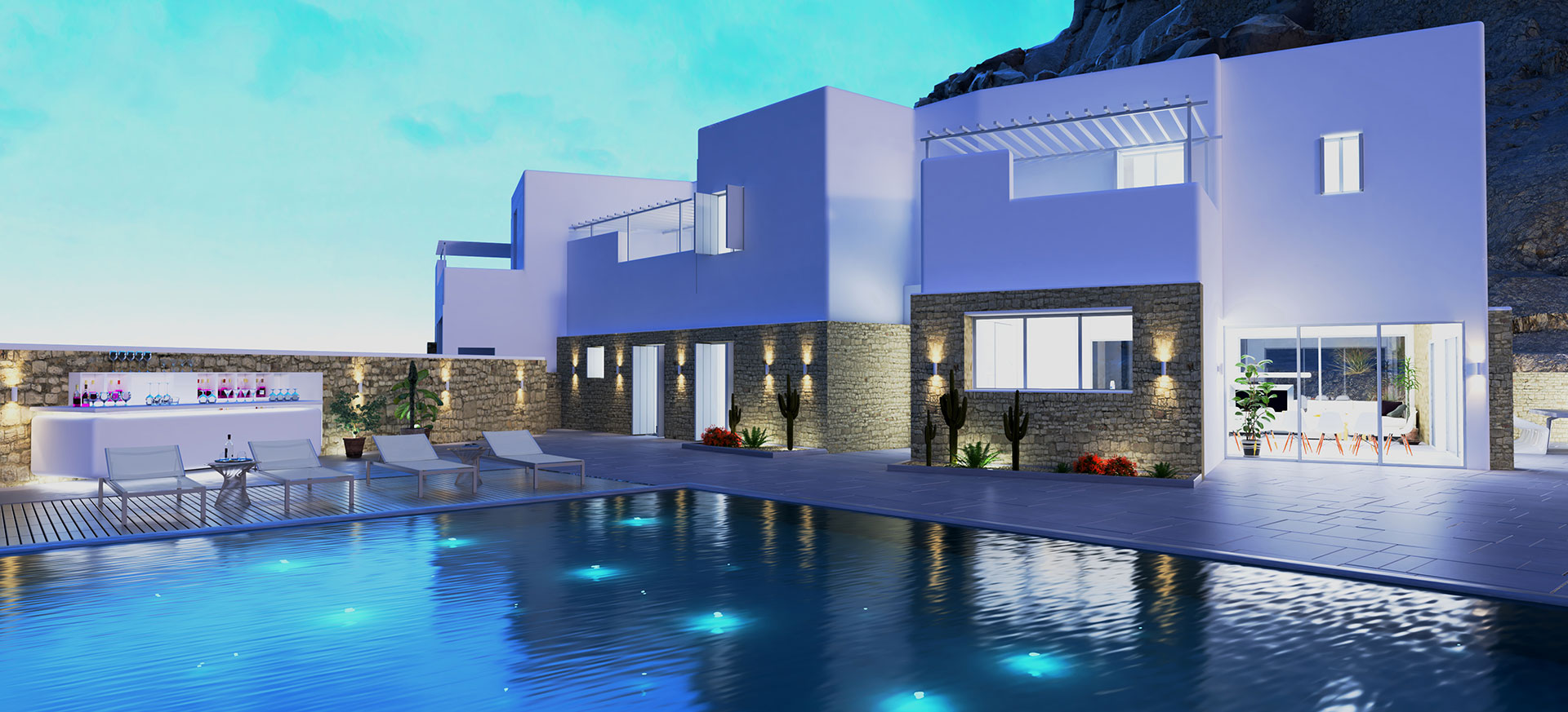 Mykonos Invest - Perspective Views